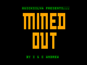 Mined-Out title screen