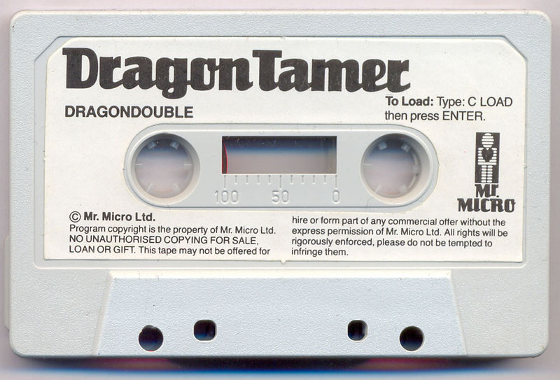File:Dragon Tamer (Tape).jpg