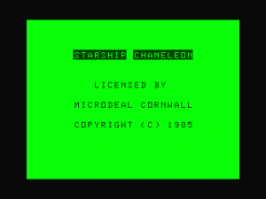 Microdeal Title Screen